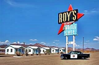 Roy's Cafe & Motel, Amboy, California