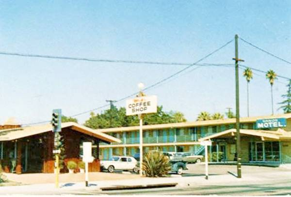 the Sands Motel on Route 66 in San Bernardino, California