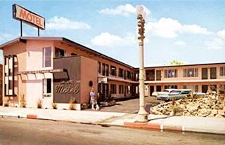 Sea Shore motel vintage postcard