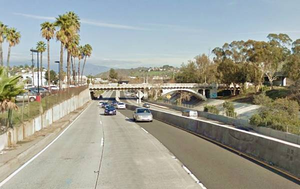 Arroyo Seco Parkway in Los Angeles, Route 66 California