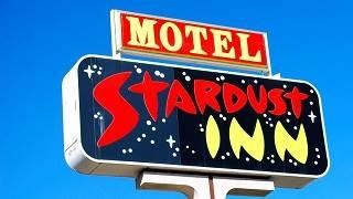 Stardust motel neon sign