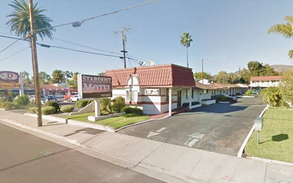 Stardust motel on Route 66 in Pomona, CA