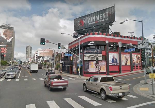 The Strip in West Hollywood