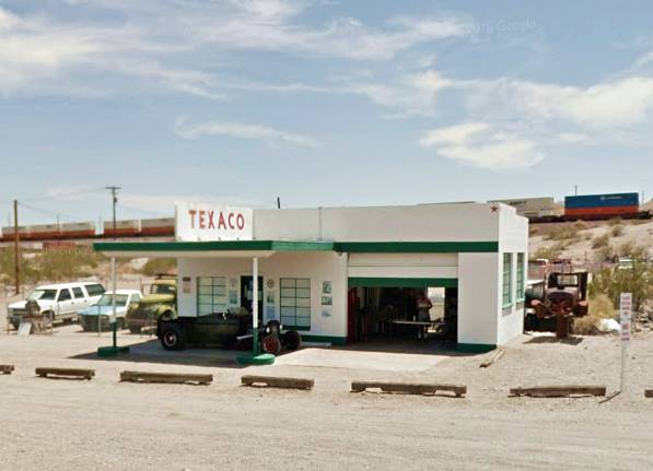 The old Texaco today