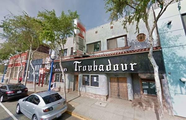 Troubador Club in West Hollywood