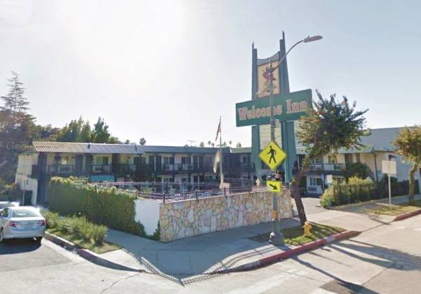 the Welcome Inn, Former Travelodge at Eagle Rock in Los Angeles, Route 66 California