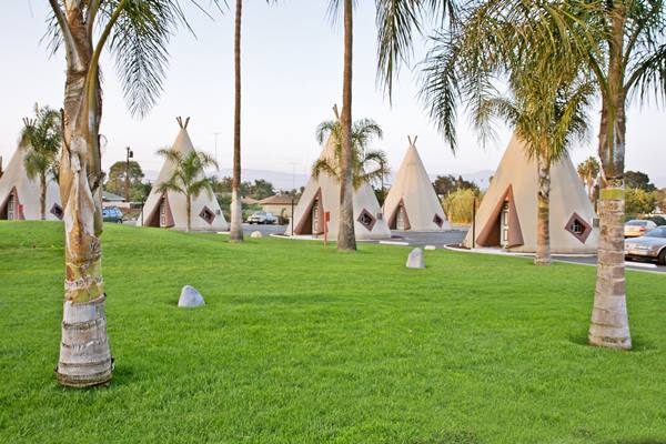 the Wigwam Motel on Route 66 in San Bernardino, California