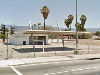 Wilshire service station in San Bernardino