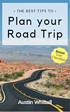 The cover of an eBook titled How to plan a Road Trip