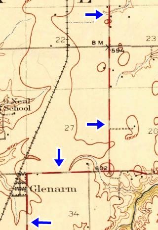 Route 66 in Glenarm