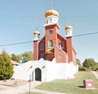 The Holy Dormition of the Theotokos Orthodox Church in Benld US66