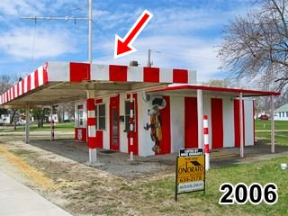 Big Al's Hot Dogs in 2006 in Dwight US66