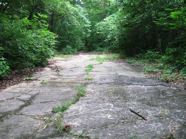 Route 66 by Carpenter Park (1922-1936) in Sherman Route 66