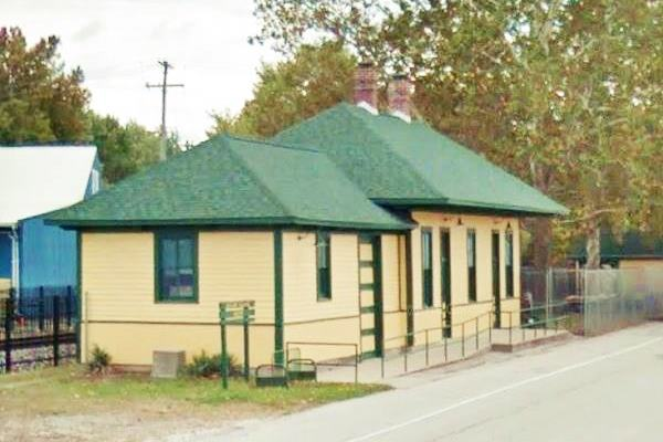 Chatham Railroad Museum (1902) in Chatham Route 66