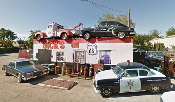 Dick's Towing in Joliet Route 66