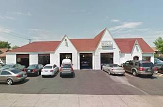 Former Phillips gas station in Berwyn US66