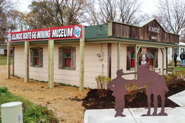 Mining Museum in Godley Route 66