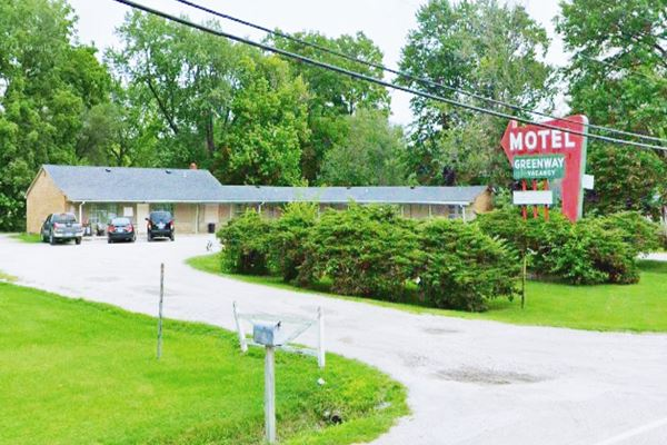 Greenway Motel in Mitchell Route 66