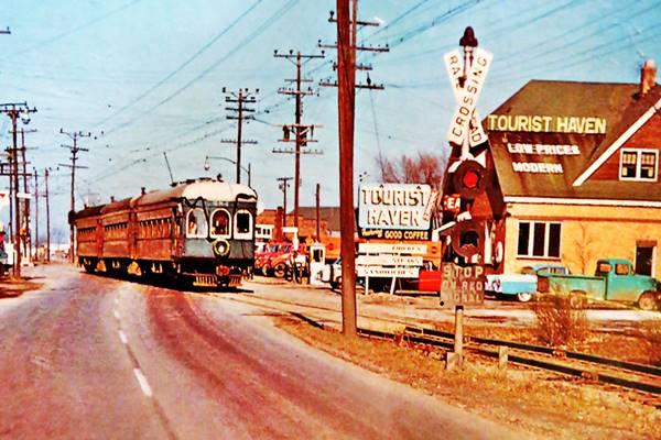 Tourist Haven 1950s photograph in Hamel Route 66