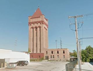 Hawthorne Works tower nowadays in Cicero US66