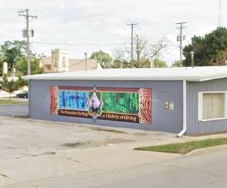 Humiston Heritage mural in Pontiac US66