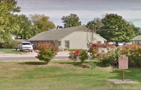 Former Lexington Motel vintage nowadays in Lexington Route 66
