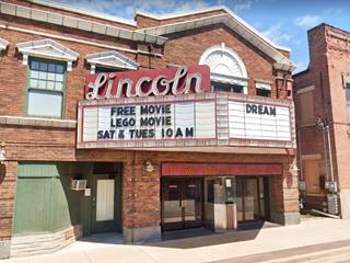 Lincoln movie Theater in Lincoln US66