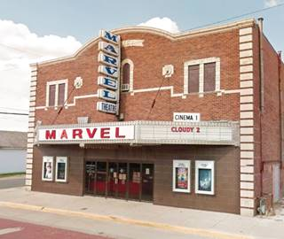 Marvel Theatre in Carlinville US66