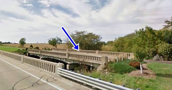 Money Creek Bridge in Towanda Route 66