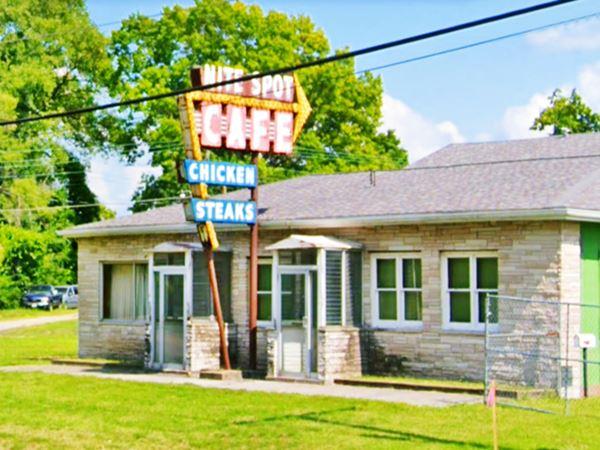 Nite Spot Café in Fairmont City Route 66