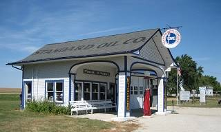 Historic Odell service station
