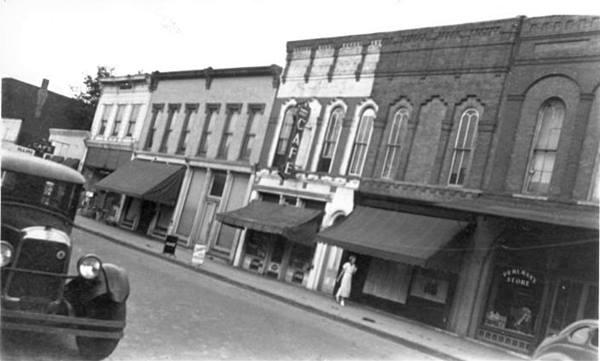 Palms Grill Café 1930s in Atlanta Route 66