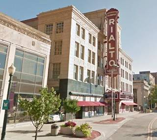Rialto Square Theatre in Joliet US66