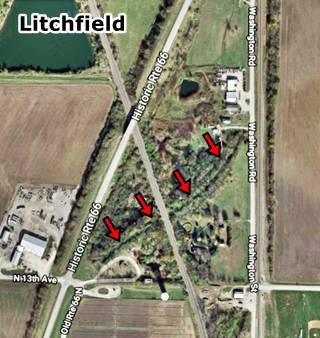Satellite view in Litchfield US66
