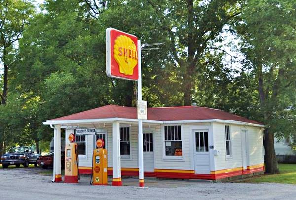 Soulsby's Service Station in Mt. Olive Route 66