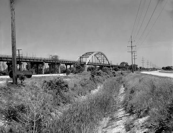 Now gone steel arch bridge on Route 66 in Braceville Route 66