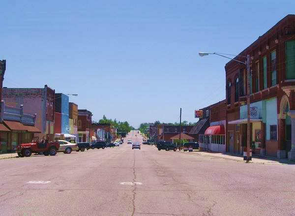 Downtown in Galena Kansas