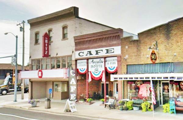 Ritz Theater Baxter Springs and Angels of the Route Cafe