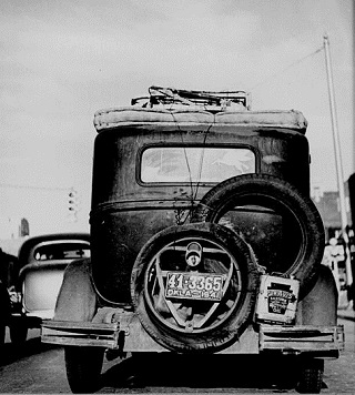 1930s Okie Car