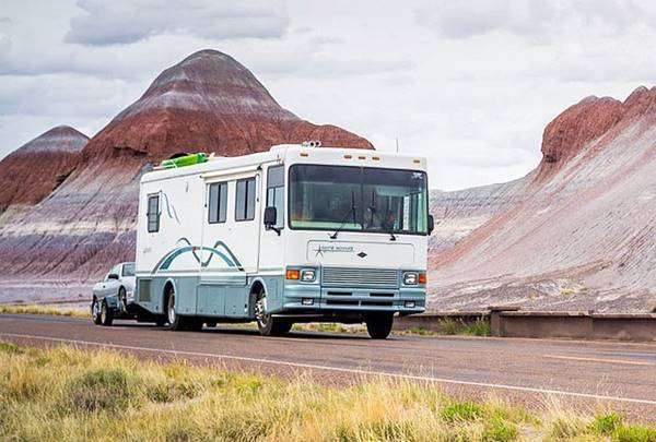 Road Trip in a Recreational Vehicle