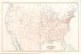 1926 map of us highway 66