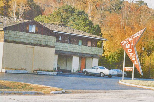Al-Pac Motel on Route 66 in Pacific MO in 1970s