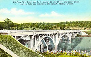 Big Piney River Bridge Devils Elbow