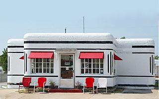 Boots Court Motel in Carthage, Route 66