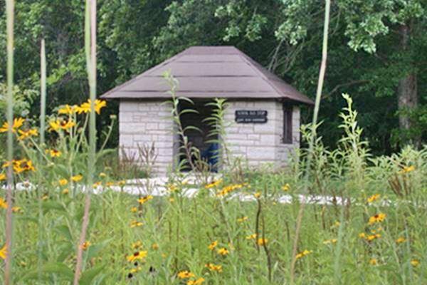 Old Allenton Bus Shelter, Route 66, Missouri