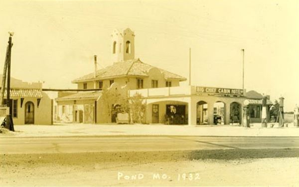 The former Chief Hotel in Pond, Wildwood, Missouri
