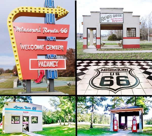 Conway I-44 Route 66 rest area