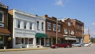 Downtown Pacific, Missouri, Public Domain