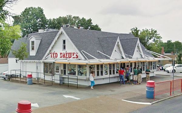 Ted Drewes Frozen Custard in St. Louis Missouri