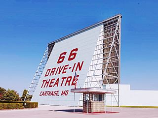 Drive In Theatre, Carthage Missouri